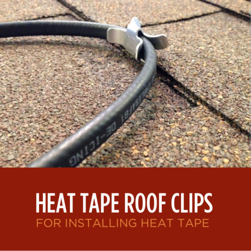 Heat Tape Roof Clips