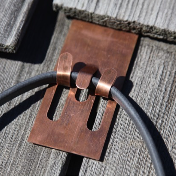 Copper Slate Amp Cedar Roof Clips Radiant Solutions