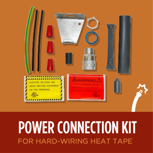 Heat Tape Power Connection Kit