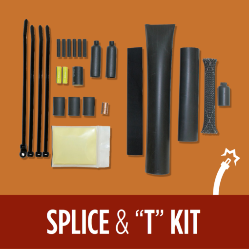 Heat Tape Splice and T Kit